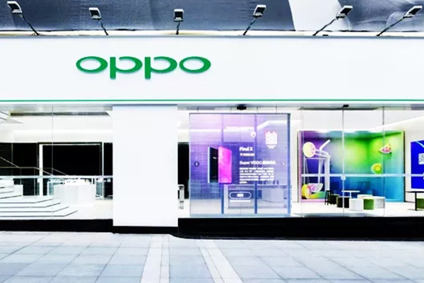 Big news | YIPLED transparent LED display opens the country's first OPPO Tmall Smart venue